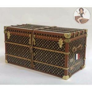 Louis Vuitton Monogram Trunk +Box+Dust Bag